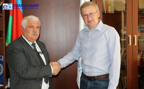 The Mayor of the city Truskavets, Andrew Kulchinskiy paid a visit to the International Eurasia Press Fund