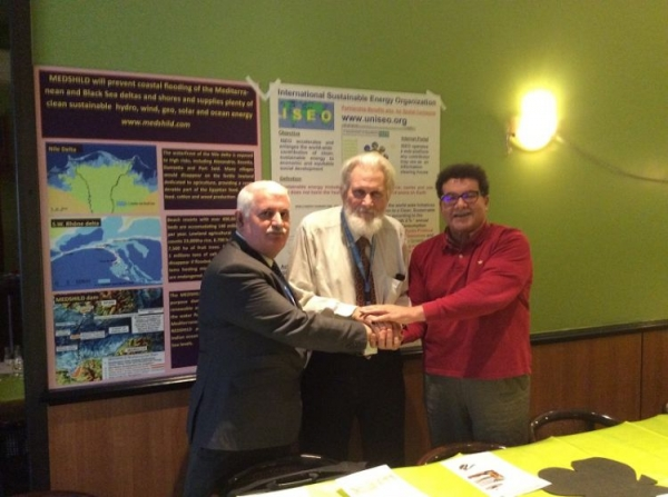 IEPF Chairman signed historical trilateral partnership agreement in Geneva