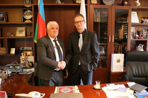 Swiss Ambassador to Azerbaijan met with the IEPF Chairman