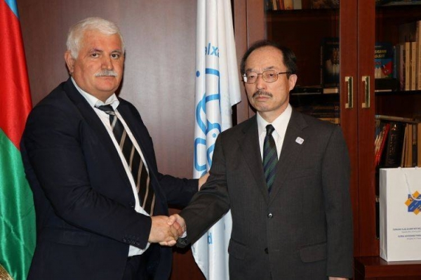 Japanese Ambassador to Azerbaijan met with the IEPF Chairman