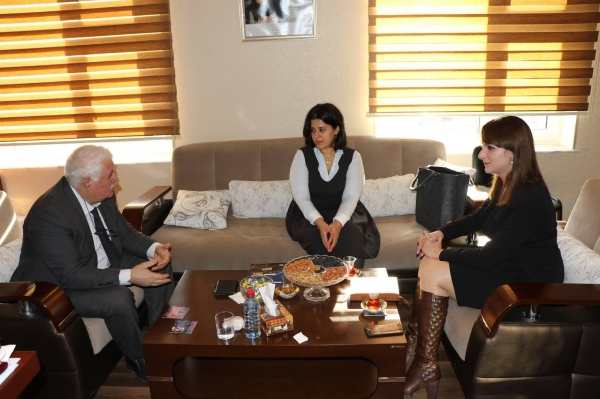 IEPF Chairman met with Director of the Centre of Excellence in EU Studies in ADA University
