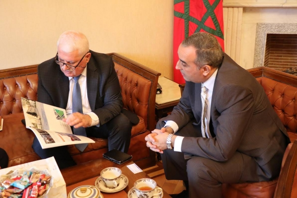 IEPF Chairman meets with Ambassador of Morocco to Azerbaijan