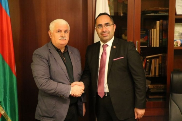 "IEPF Chairman meets with Ankara bureau chief of ""Channel Europe"" Sardar Akyol"