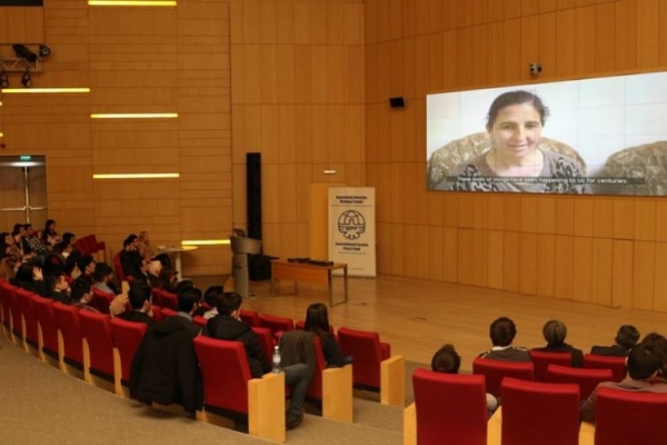 """Ceasfire""documentary film presented at ADA University - PHOTOS"