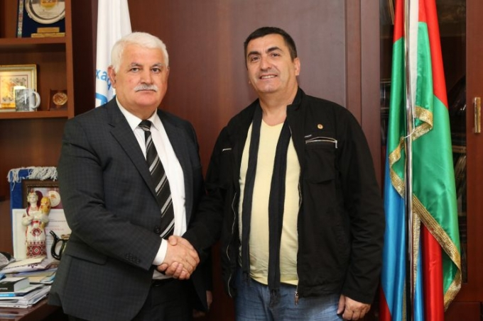 IEPF President Umud Mirzayev met with founder of Turkish parliament television
