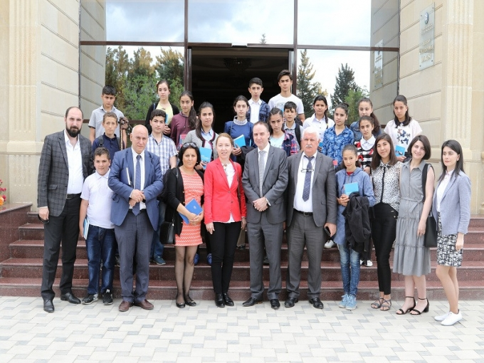 Representatives from UNICEF and IEPF visit regions of Azerbaijan