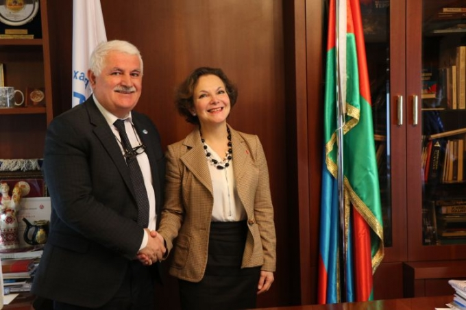 French Ambassador met with the IEPF President