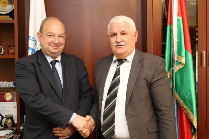 IEPF President met with the Belgian Ambassador