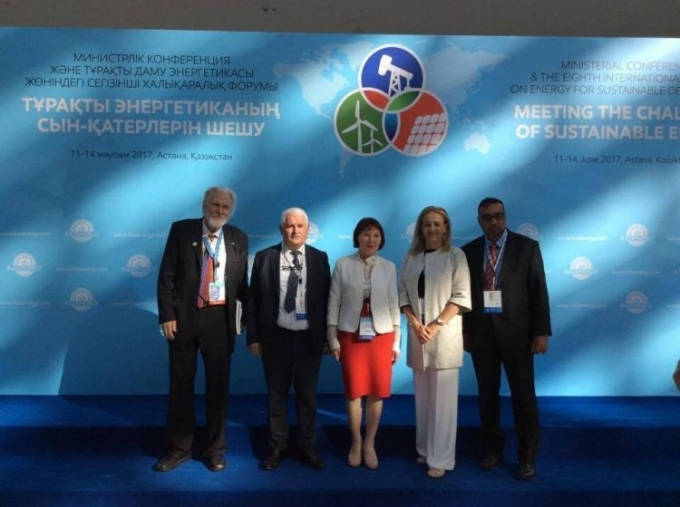 IEPF-ISEO-APFREEE joint SDG Position Paper presented in Astana