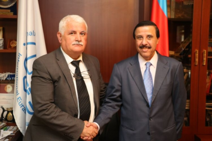 Ambassador of Qatar to Azerbaijan visits International Eurasia Press Fund