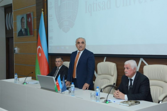 UNEC hosts the conference - Social Business: Reality and Prospects in Azerbaijan - PHOTOS - VIDEO