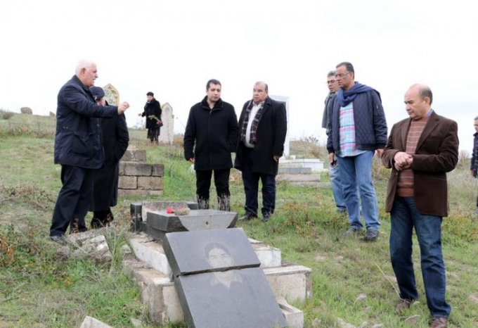 The leading media representatives from Egypt visit frontline regions of Azerbaijan