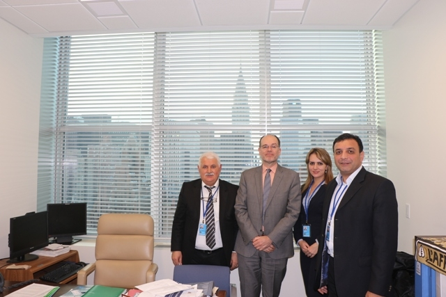 IEPF President holds meetings at the UN Headquarters in New York