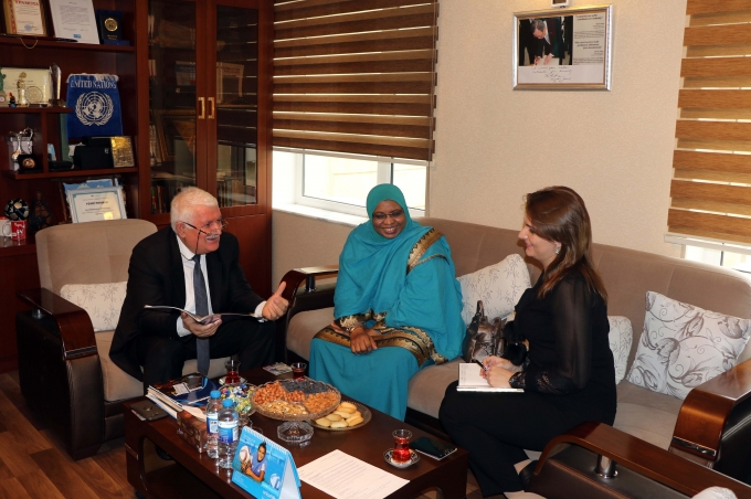 Plenipotentiary & Deputy Head of Mission at the Embassy of the Republic of Sudan in the IEPF office