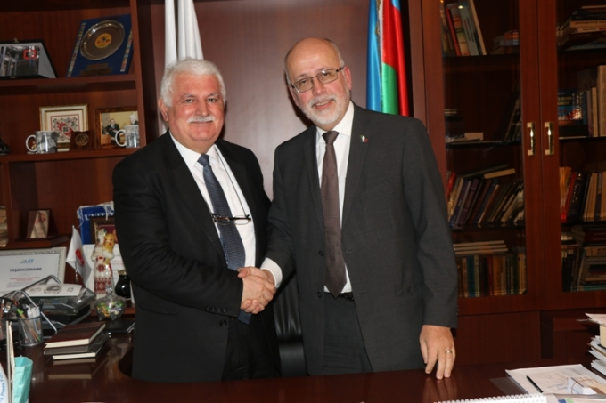 Mexican Ambassador to Azerbaijan paid a visit to the IEPF office