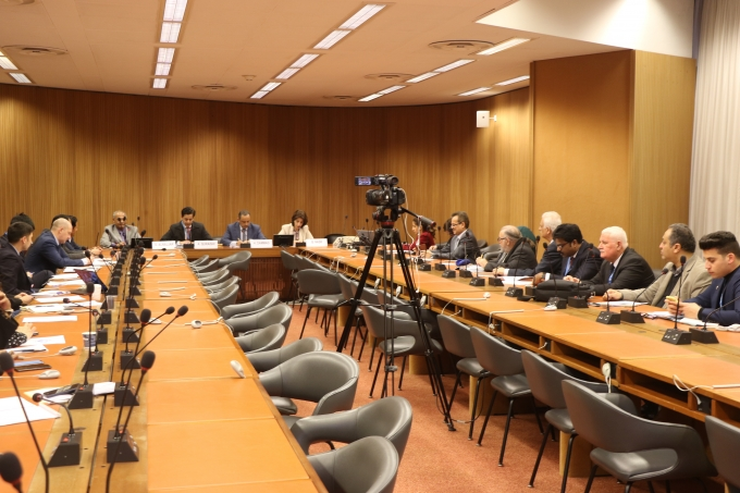 IEPF holds meetings during the 40th Session of the UN Human Rights Council