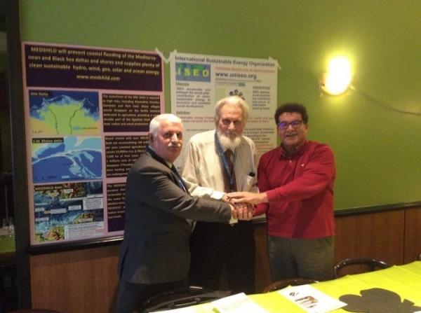 Председатель МФЕП подписал трёхстороннее соглашение о партнерстве в Женеве