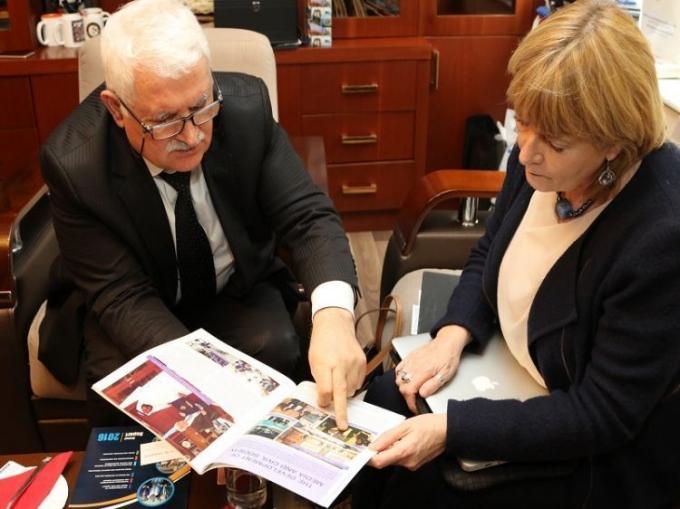 UNICEF-in Beynəlxalq eksperti Eleyn Sammon BAMF-ın ofisində olub