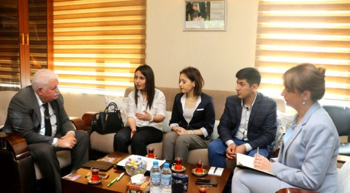 IEPF President meets with THE SAME Team