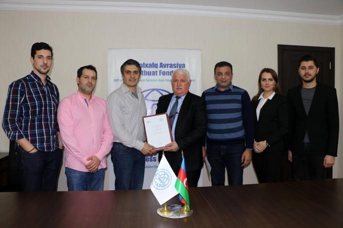 BAMF Beynəlxalq Mədəniyyətlərarası Assosiasiya ilə əməkdaşlıq memorandumu imzalanıb