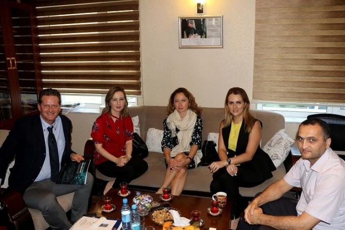 Maliyyə texnologiyalarının təşviqi ilə bağlı konfransın təşkilatçıları BAMF-in ofisində olublar