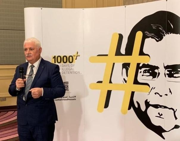 BAMF prezidenti Umud Mirzəyev Qətərdə keçirilən simpoziumda Qarabağdan danışdı