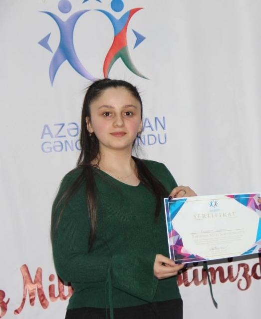 Selenay Elşən qızı Rüstəmova